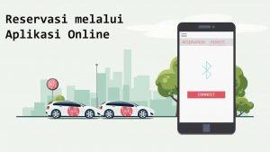Reservasi melalui Aplikasi Online