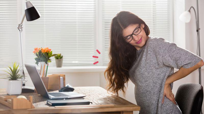 Tips Atasi Badan Pegal Saat Kerja di Kantor