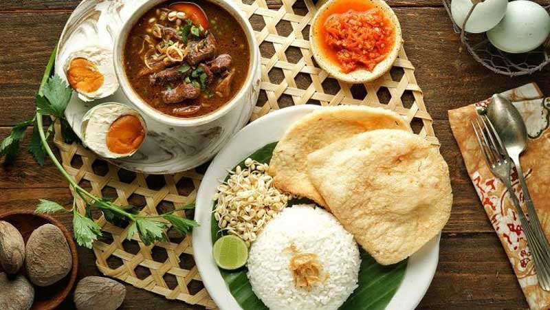 Nasi Rawon Daging